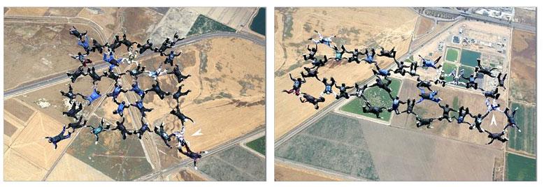 Freefall - Skydive 2004